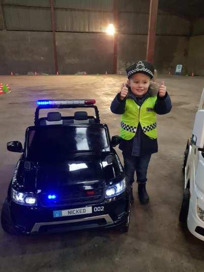 24V POLICE JEEP